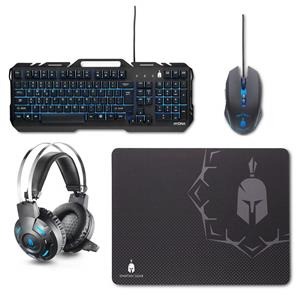 Set Gaming Spartan Gear Hydra Combo