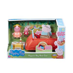 Set Jucarii Peppa Pig Big Red Car