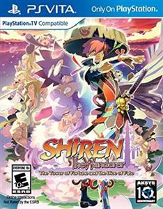Shiren Wanderer Tower of Fortune and Dice of Fate PS VIta