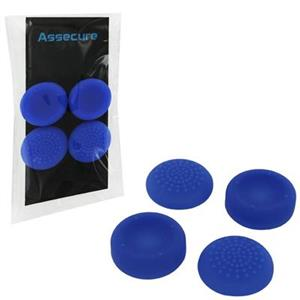 Silicone Thumb Grips Concave And Convex Blue Ps4