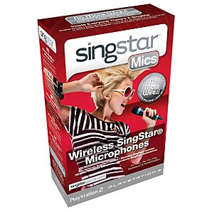 Singstar Wireless Microphones Ps2 And Ps3