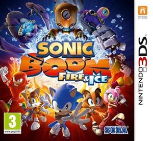 Sonic Boom Fire and Ice Nintendo 3DS