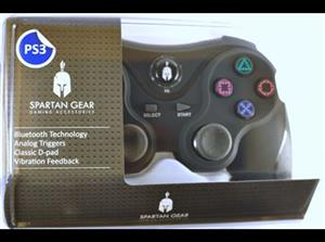 Spartan Gear Wireless Bluetooth Sixaxis Controller Black PS3