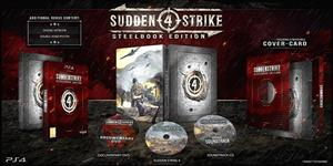 Sudden Strike 4 Steelbook Limited Edition PS4