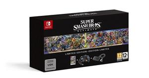 Super Smash Bros Ultimate Limited Edition Plus Controller si Adaptor Nintendo Switch