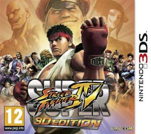 Super Street Fighter IV Nintendo 3Ds