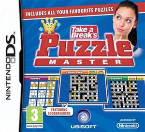 Take A Breaks Puzzle Master Nintendo DS