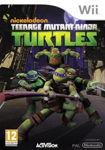Teenage Mutant Ninja Turtles 2013 Nintendo Wii