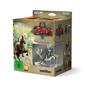 The Legend of Zelda Twilight Princess With Wolflink Amiibo Nintendo Wii U