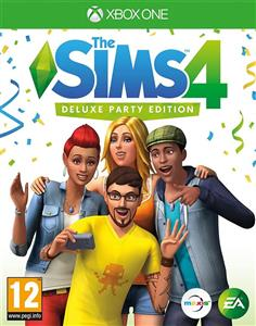 The Sims 4 Deluxe Party Edition Xbox One