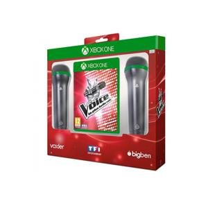 The Voice Bundle Game And Microphone FR Xbox One