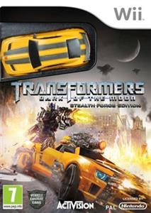 Transformers Dark of The Moon Plus Toy Nintendo Wii