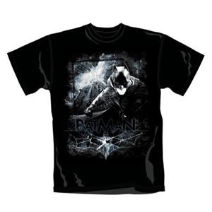 Tricou Batman Dark Knight Rises Distressed Scene Marimea 2XL