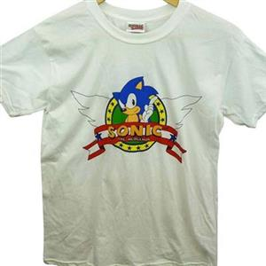 Tricou Sonic The Hedgehog Men's Wings Logo Regular Fit Short Sleeve T-Shirt