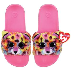 Ty Plush - Slides - Giselle the Leopardcorn (Size: 28-31) (TY95413)