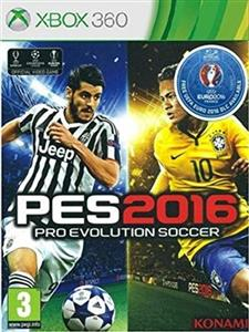 UEFA Euro 2016 and Pro Evolution Soccer Xbox360