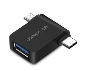 Ugreen 2In1 Adapter Otg Usb-A 3.0 To Usb-C And Micro-Usb