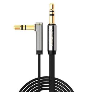 Ugreen Mini Jack 3,5Mm Aux Flat Elbow Cable 3M