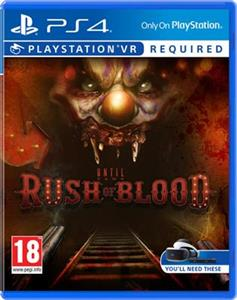 Until Dawn Rush of Blood (PSVR) PS4
