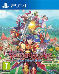 Valthirian Arc Hero School Story PS4