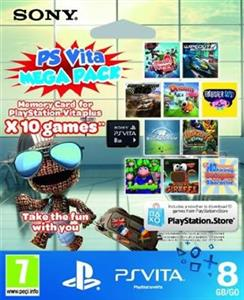 Vita Memory Card 8Gb Plus Kids Pack Voucher