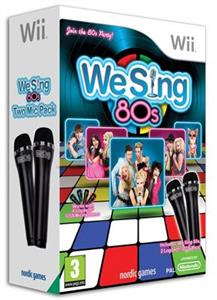 We Sing 80's 2 Mic Bundle Nintendo Wii