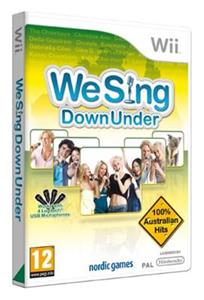 We Sing Down Under Nintendo Wii
