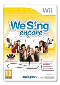 We Sing Encore Nintendo Wii