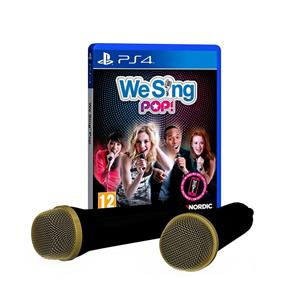 We Sing Pop 2 Mic Bundle PS4