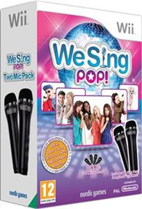 We Sing Pop Bundle (With 2 Mic) Nintendo Wii