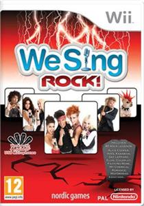 We Sing Rock Nintendo Wii