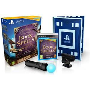 Wonderbook Book of Spells With Move controller And Eye camera Ps3