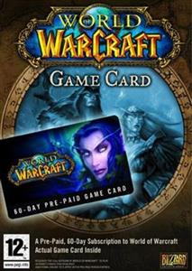 World of Warcraft Game Card 60 Days PC