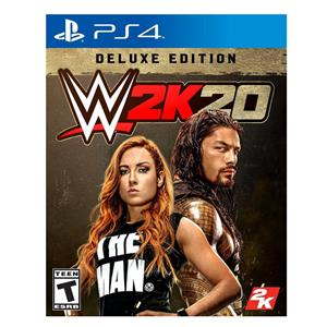 WWE 2K20 Deluxe Edition PS4
