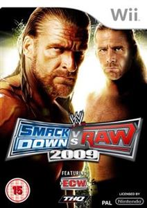 WWE Smackdown vs. Raw 2009 Nintendo Wii
