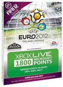 Xbox360 Live Points 1800 Euro 2012 Branded Xbox360