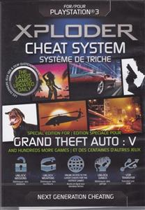 Xploder Cheat System GTA V Special Edition PS3