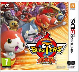 Yo-Kai Watch Blasters Red Cat Corps Nintendo 3DS