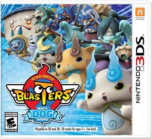 Yo-Kai Watch Blasters White Dog Squad Nintendo 3DS