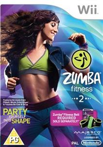 Zumba Fitness 2 Game Only Nintendo Wii