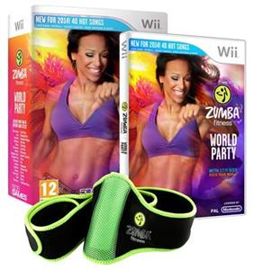Zumba World Party Bundle Pack Nintendo Wii