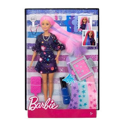 Papusa Barbie Cu Par Colorat Papusi Jucarii Fete Caractere Iconice